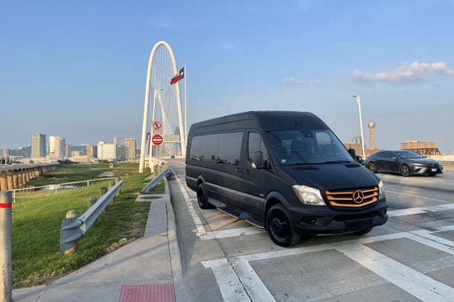 2015 Mercedes-Benz Sprinter available for rent in Dallas TX
