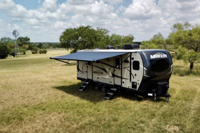 2021 Forest River Rockwood Mini Lite available for rent in Fredericksburg TX