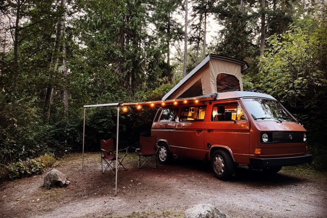 1982 Volkswagen Westfalia available for rent in Tacoma WA