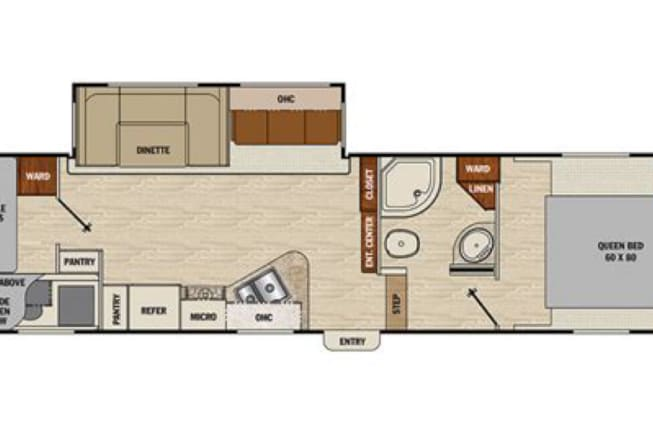 2016 Coachmen Chaparral available for rent in New Carlisle