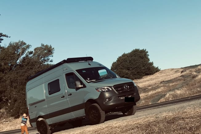2022 Mercedes-Benz 4x4 Sprinter mwb available for rent in San Jose CA