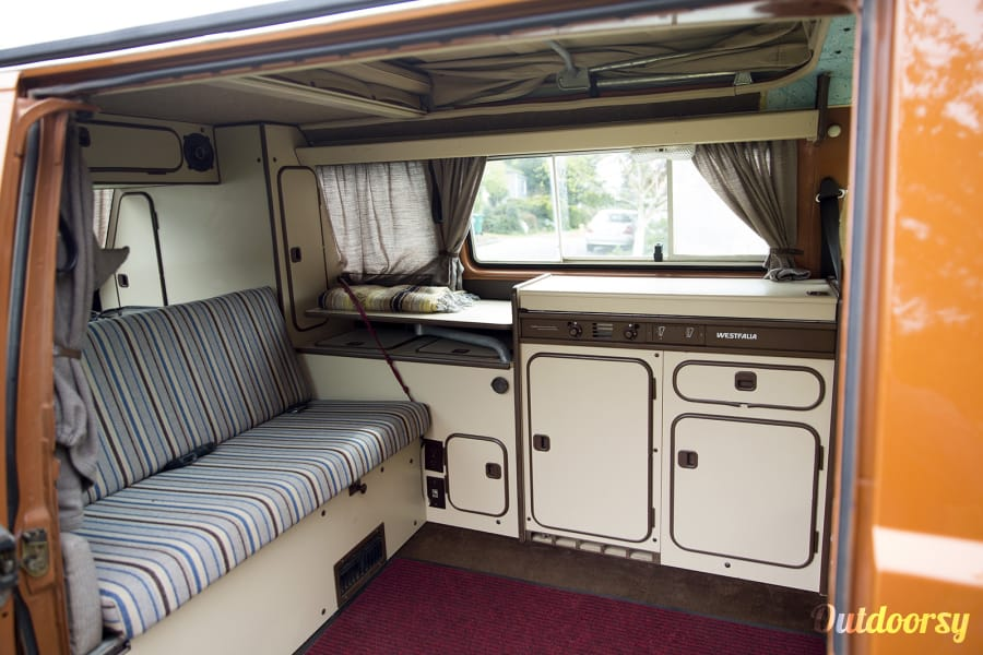 1983 Volkswagen Vanagon Motor Home Camper Van Rental In