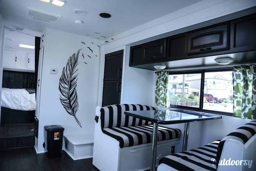 interior Glampin in Gloria Morro Bay, CA