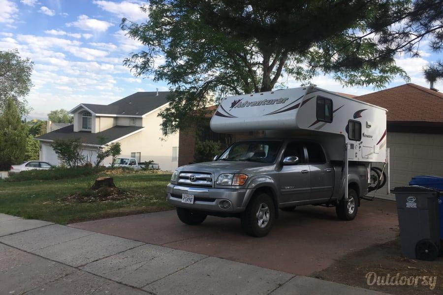 exterior Four Season Off-Road Warrior - Truck Camper Cottonwood Heights, UT