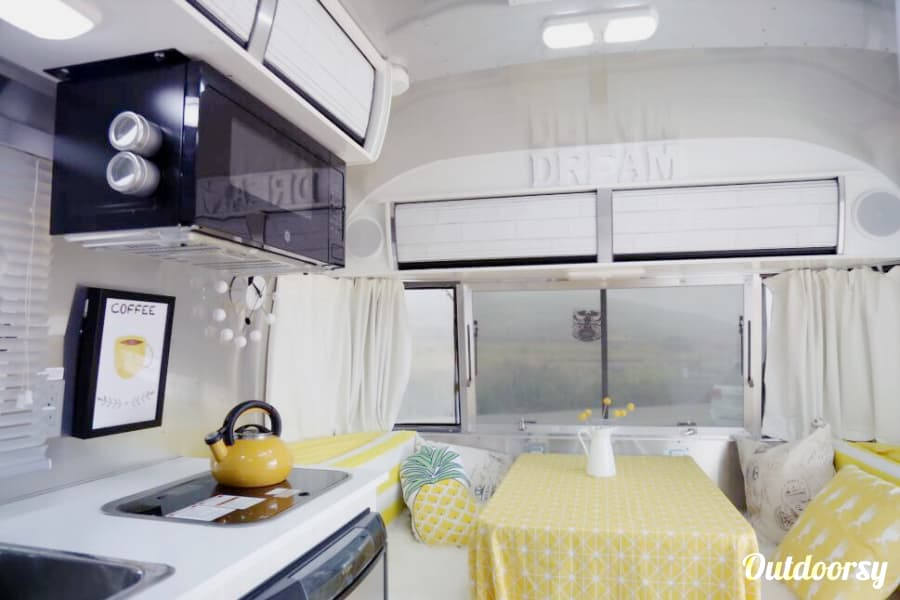 interior 2016 Airstream Irvine, CA