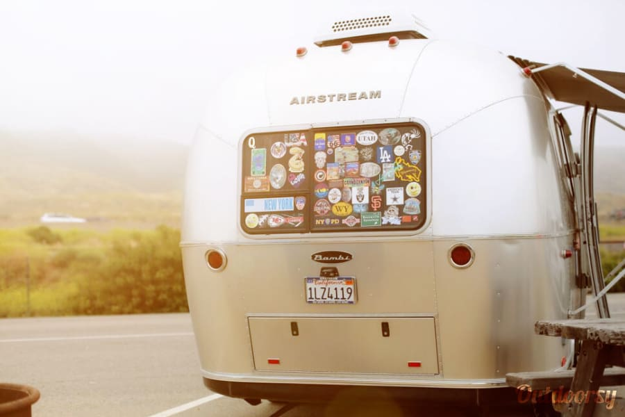 exterior 2016 Airstream- FREE Late Return Irvine, CA