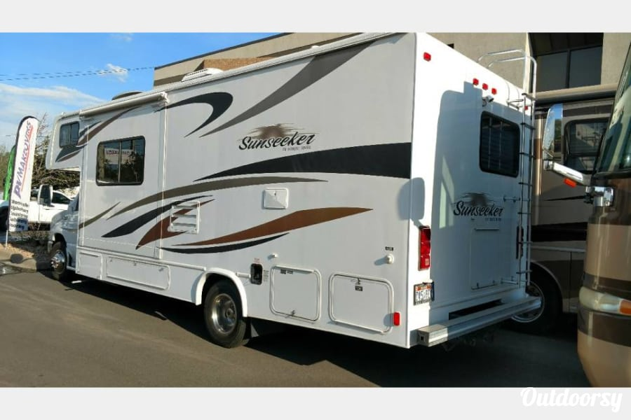 exterior 2011 Forest River Sunseeker Englewood, CO