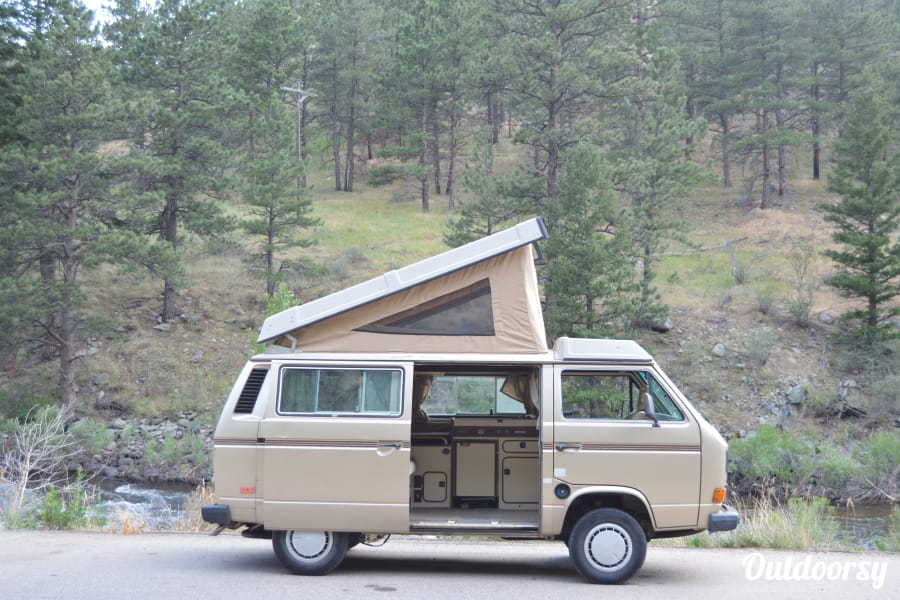 exterior Eileen: the 1985 Volkswagen Vanagon Fort Collins, CO