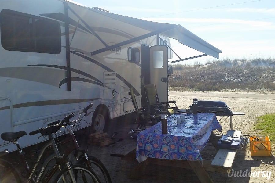 2016 Nexus Phantom Hayward, Wisconsin Camping at St Joseph Peninsula State Park