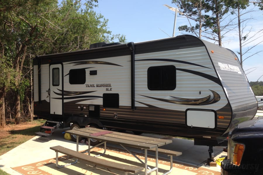 exterior 2015 Heartland Trail Runner Drumright, OK