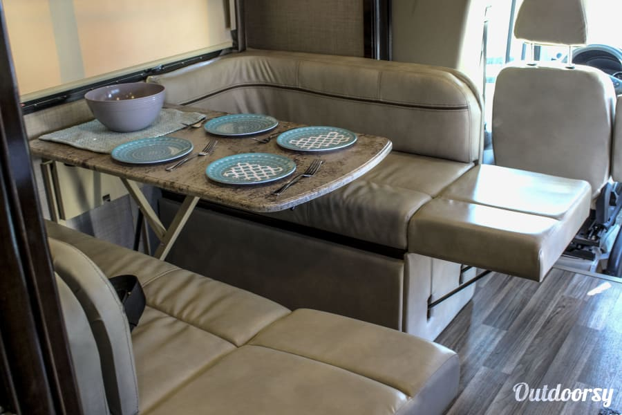 interior 2018 Thor Synergy SD24 - Mercedes Luxury in an RV Fort Collins, CO