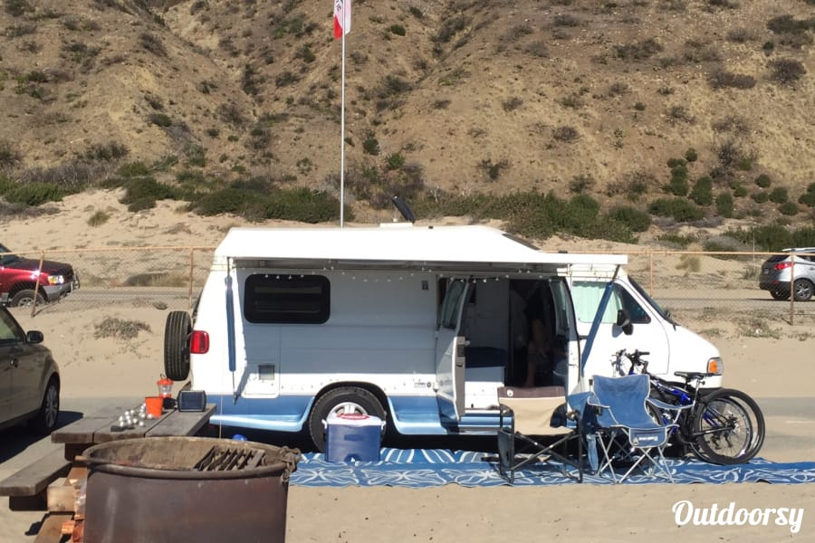 1997 Roadtrek 190 Popular Motor Home Camper Van Rental In