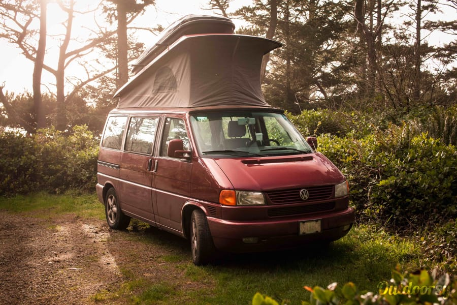 Red Sky: Eurovan Weekender Portland, OR