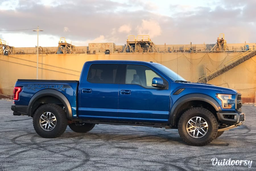 exterior 2018 Ford F-150 Raptor San Francisco, CA