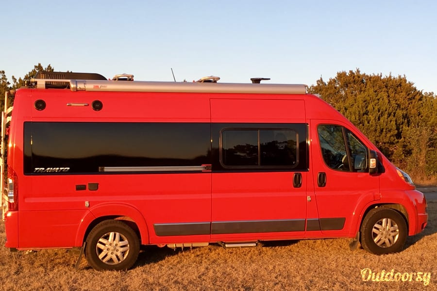 exterior The Red Baron! Ultra cool, roomy Class B RV that drives like a dream! 2015 Winnebago Travato Helotes, TX