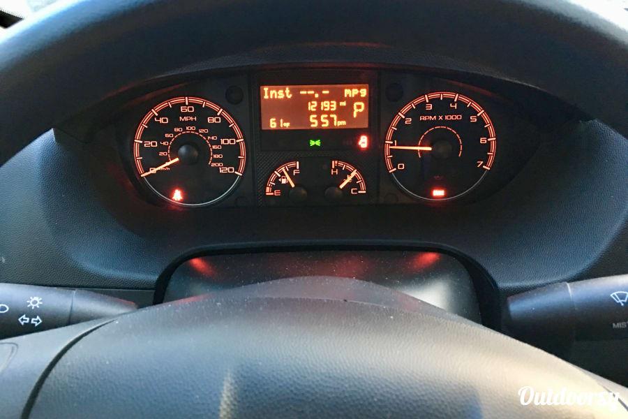 interior The Red Baron! Ultra cool, roomy Class B RV that drives like a dream! 2015 Winnebago Travato Helotes, TX