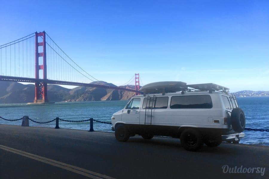 Beautifuly Converted 1995 Chevrolet G20 Camper San Francisco, CA