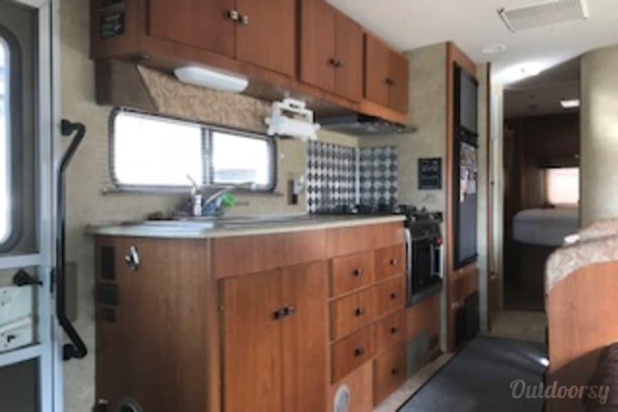 interior 2008 Winnebago Outlook (AKA -Benjamin Franklin Rodriguez) Billings, MT