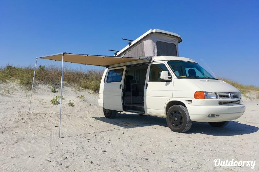 Vw Eurovan Camper >> 2003 Winnebago Eurovan Camper Eurovan Camper Motor Home Camper Van