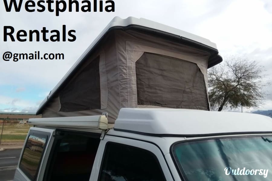 exterior &quot;Holstein&quot; Eurovan Westfalia <Westy> Pop-Top Winnebago FULL Camper Westphalia, MI