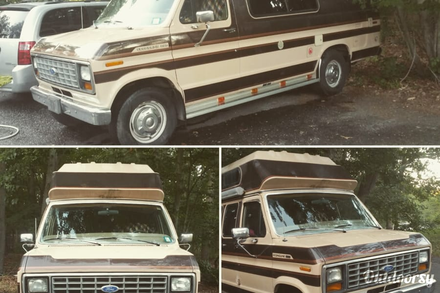 1990 Ford Econoline 250s Motor Home Class B Rental In Toms