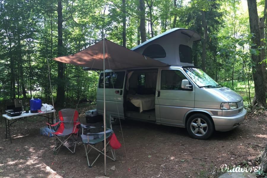 2002 VW Eurovan Westfalia Pop-top Camper Van Hamburg, NY