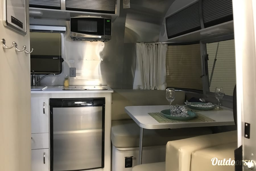 "interior 16ft Airstream Sport ""Huck"" Salt Lake City, UT"