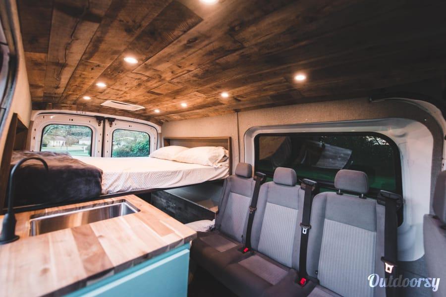 interior The Mad Hatter - 5 Person Campervan Birmingham, AL