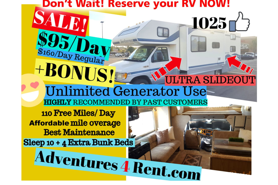 2005 Fleetwood Jamboree Motor Home Class C Rental In Corona Ca