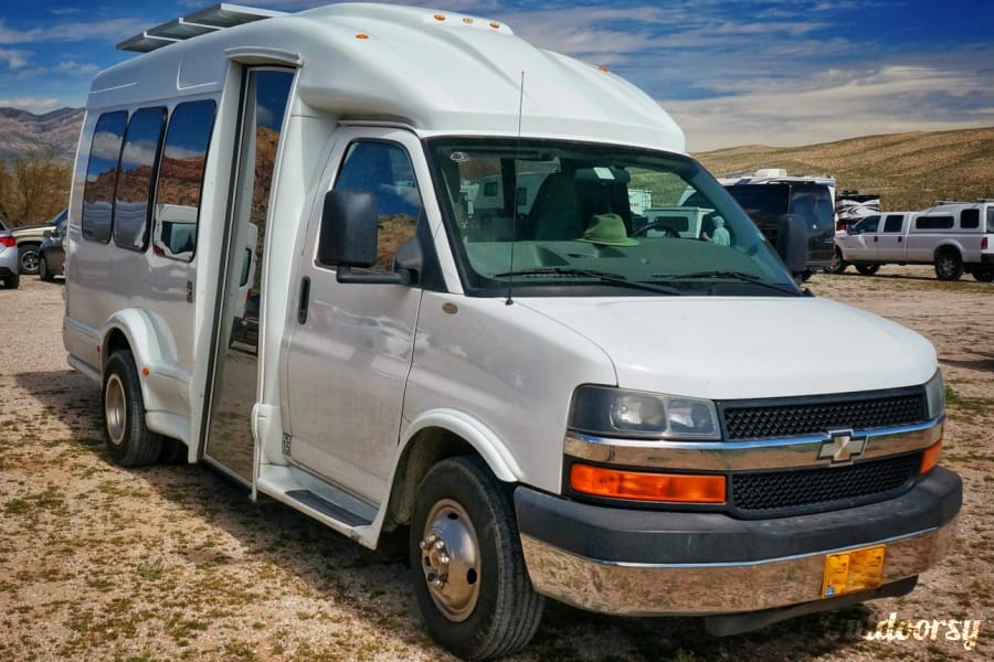 exterior MightyVans.com 'Falcon' Two-Person Adventurevan Salt Lake City, UT