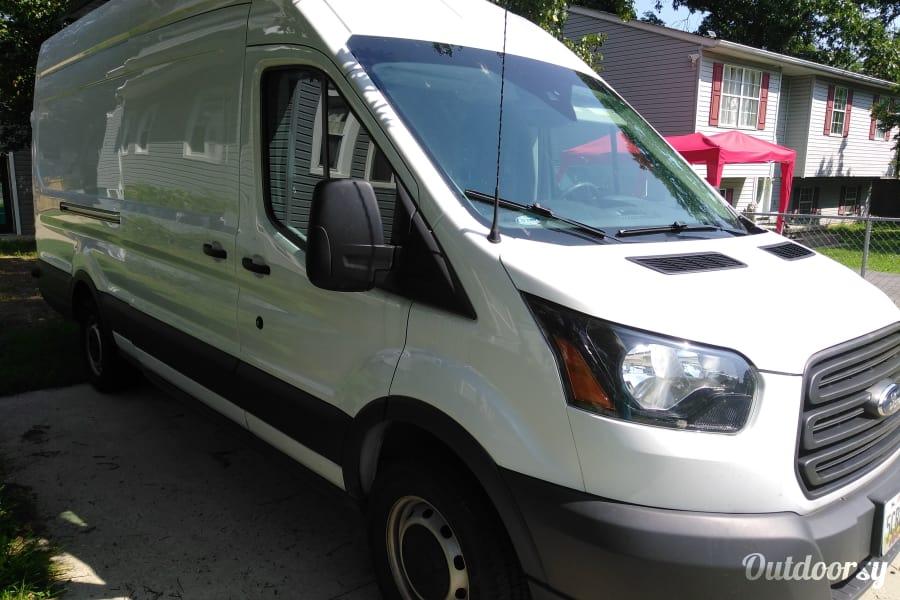2016 Ford Custom Transit Motor Home Camper Van Rental In Wilmington