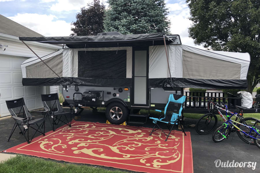 exterior 2018 Coachmen Clipper with Cargo (Toy Hauler)  Deck Hagerstown, MD