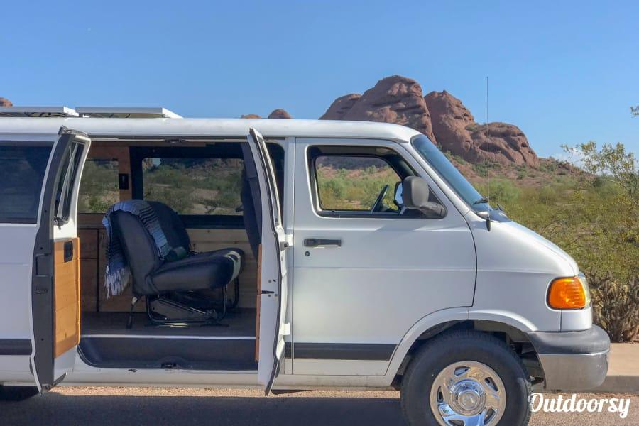 exterior Joplin | Boho Camper Vans Phoenix, AZ