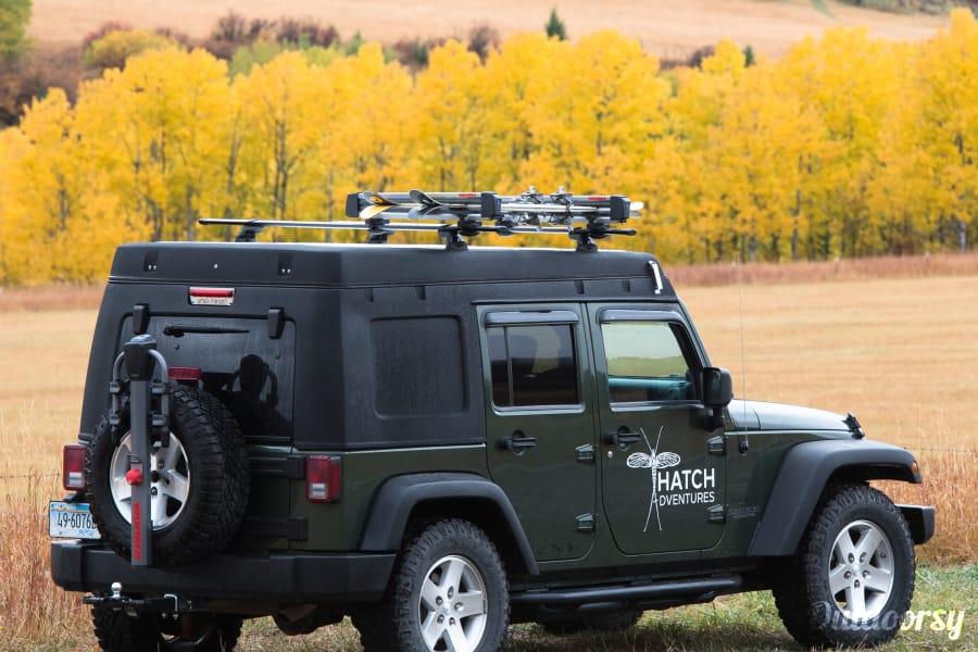 2008 Jeep Wrangler Motor Home Truck Camper Rental In