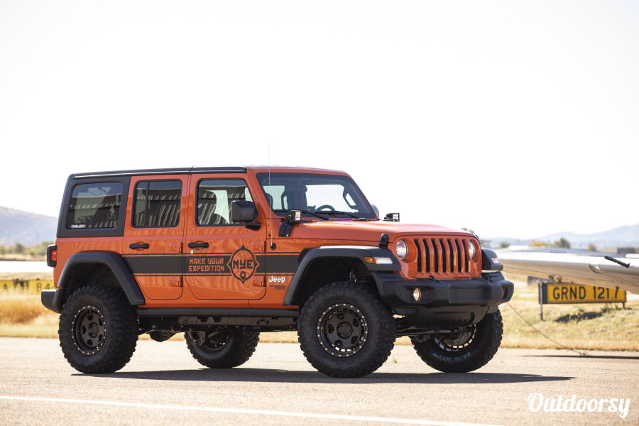 exterior Jeep Wrangler Unlimited (4-Door) Sedona, AZ