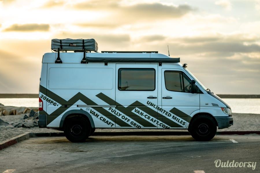 exterior Sprinter Short Wheelbase Oceanside, CA