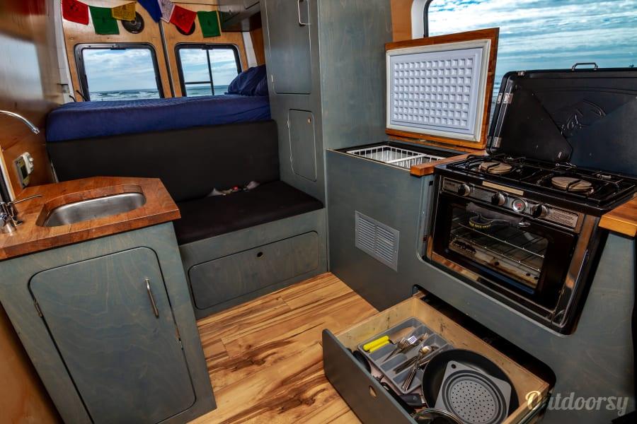 interior Sprinter Short Wheelbase Oceanside, CA
