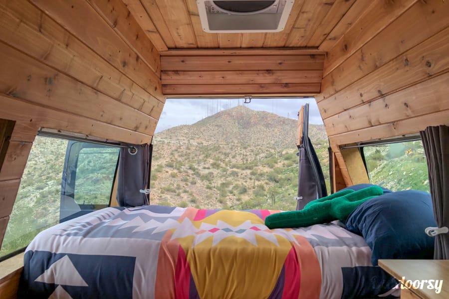 interior Franklin   Boho Camper Vans Tempe, AZ