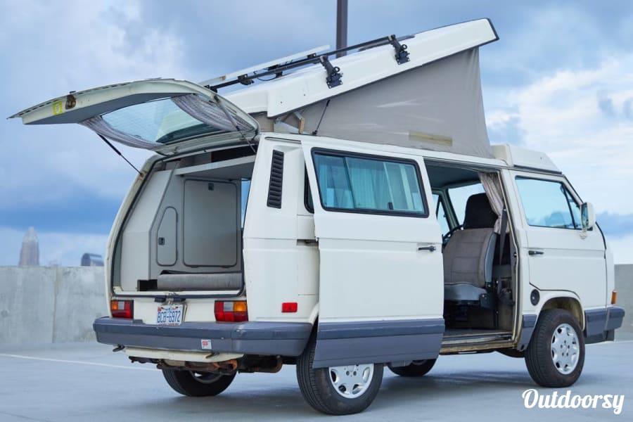 "exterior 1991 VW Vanagon Camper ""Marsha"" (Manual Transmission) Charlotte, NC"