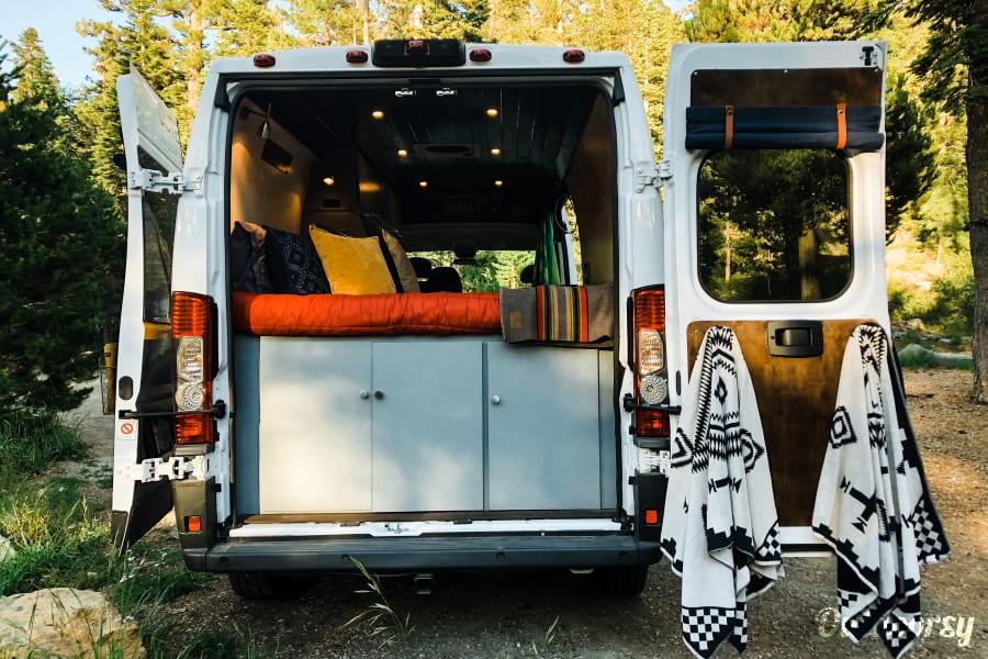 2017 Ram Promaster Motor Home Camper Van Rental In