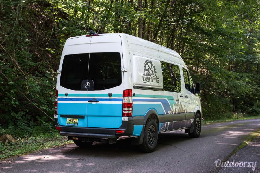 exterior White Rabbit - 5 Person Campervan Birmingham, AL