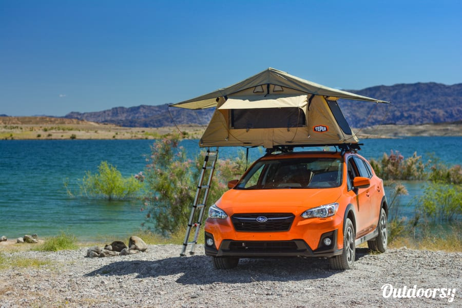 2019 Subaru Crosstrek Motor Home Camper Van Rental In