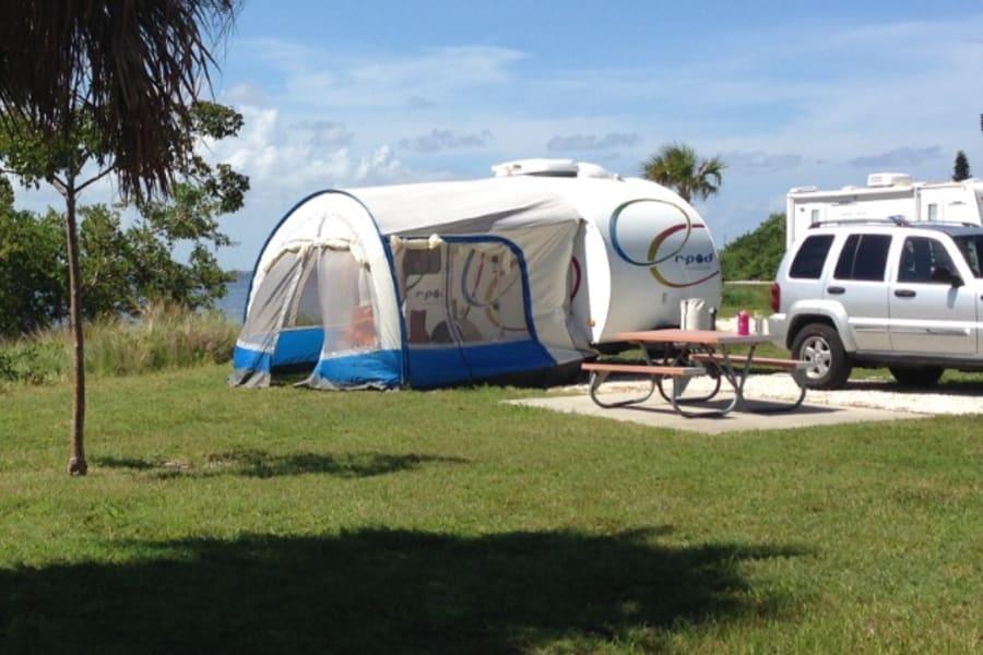 Our maiden voyage to Satellite Beach, Florida.