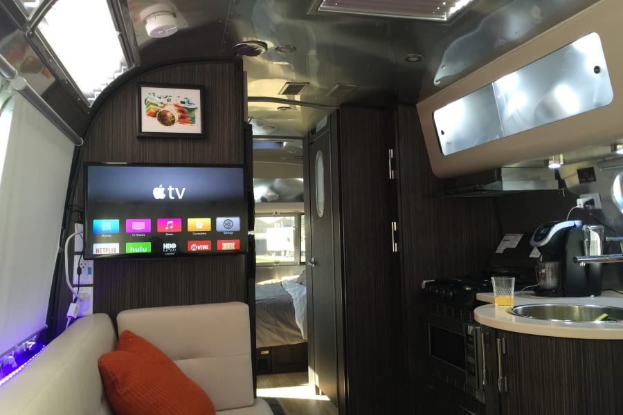 Galley and living space