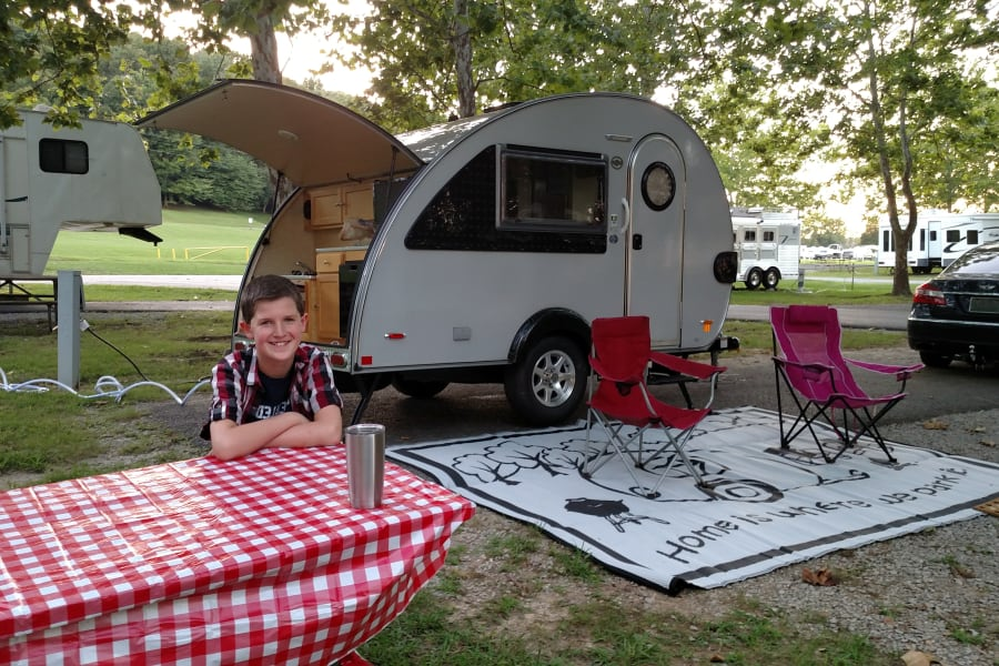 2016 T@B camping at Green River Lake State Park