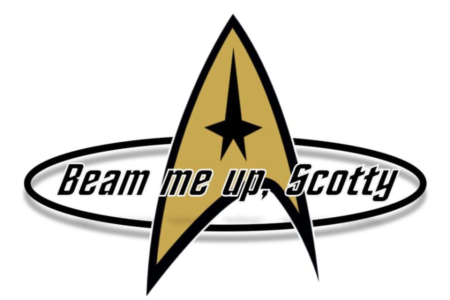 We are quite sure that when the Scotty camper was first designed in 1959 trekkies were nowhere to be found, but the fifties set the stage for the pending burst in enthusiasm. You will love this camper to the moon and back!