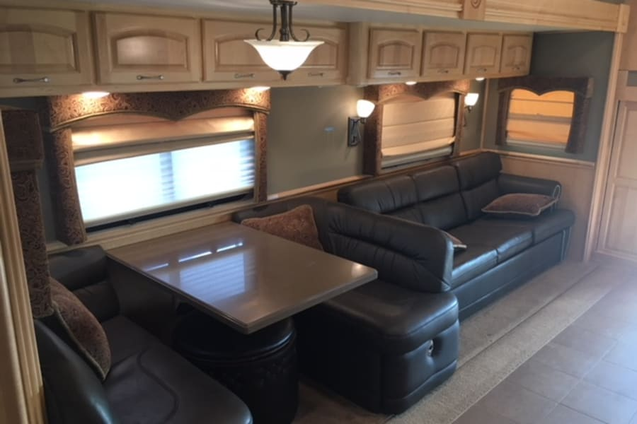 DINING AREA WITH PULL OUT COUCH