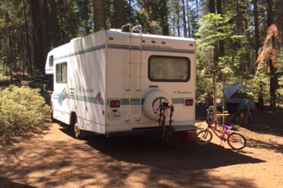 Yosemite with bike rack