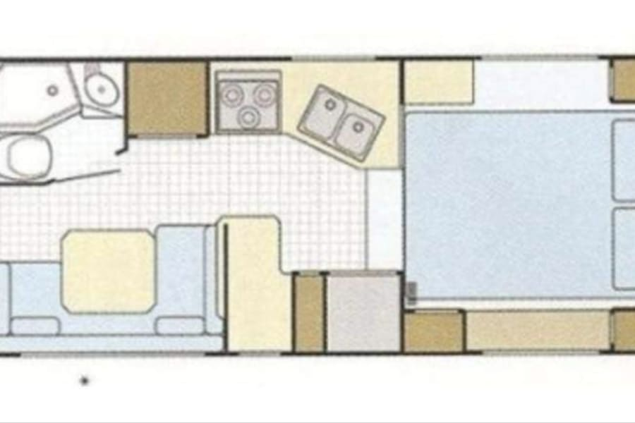 This incredible & efficient floor plan, even includes an optional bunk OVER dinette!