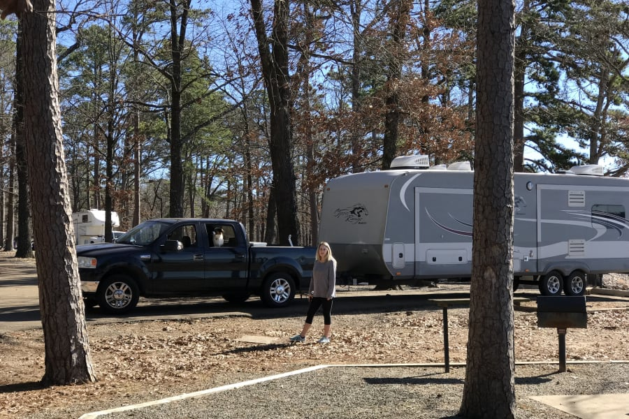A fun weekend getaway with the family at Rocky Point State Park in Texarkana.